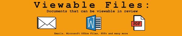 Reviewable Documents Header